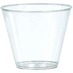 9 oz Plastic Tumbler - Clear