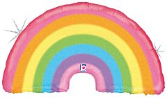 "36"" Pastel Rainbow Holographic"