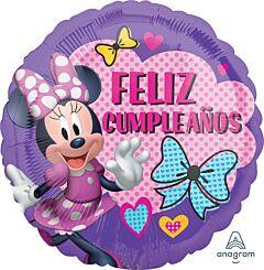 "17"" Minnie Helpers Feliz Cumpleanos"