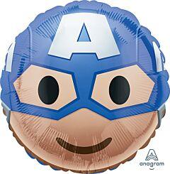 "17"" Captain America Emoji"