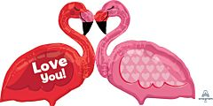 "46"" Love Flamingos"