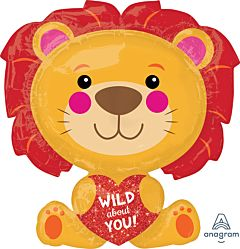 """28"""" Wild About You Lion"""
