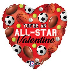 "18"" All Star Valentine"