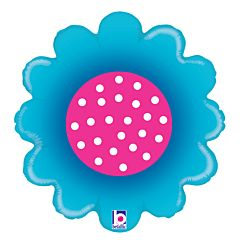 "18"" Spring Flower Blue"