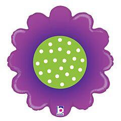"18"" Spring Flower Purple"