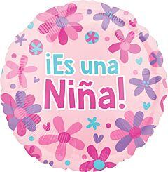 "18"" Es Una Nina Flowers"