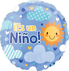 """18"""" Es Un Nino Cloudy Sky"""