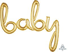 "39"" Phrase Baby Gold Consumer Inflate"