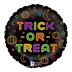 "18"" Neon Trick Or Treat"