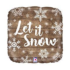 """18"""" Let It Snow"""