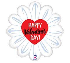 """18"""" Happy Valentine Daisy"""