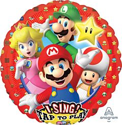 """28"""" Super Mario Brothers Sing-a-Tune"""