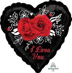 """17"""" Romantic Roses"""