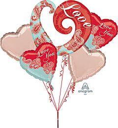 Bouquet Paisley Love