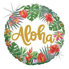 "18"" Tropical Aloha Holographic"