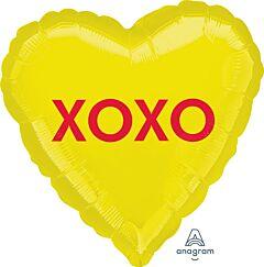 "17"" XOXO Candy Heart"