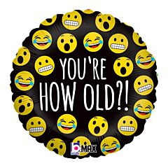 "18"" Emoji How Old"