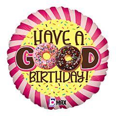 """18"""" Donut Birthday"""