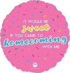 """18"""" Sweet Homecoming"""