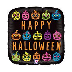"18"" Halloween Pumpkin Skull"