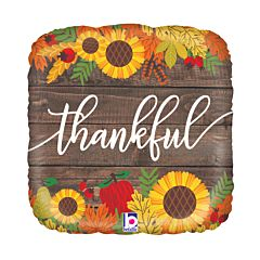 "18"" Rustic Thankful"