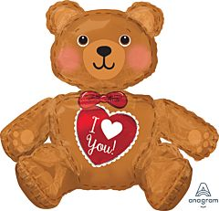 """28"""" Sitting Bear Consumer Inflate"""