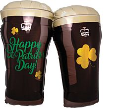 St. Pats Beer Glasses