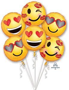Bouquet Emoticon Love