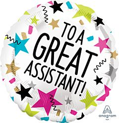 """17"""" Great Assistant Stars"""