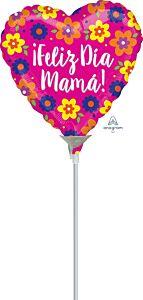 "4"" Feliz Dia Mama Flowers"