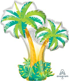 """34"""" Tropical Palm Trees"""