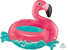 """30"""" Floating Flamingo"""