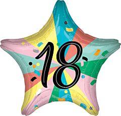 "18"" 18th Birthday Star"