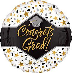 """18"""" Congrats Grad Stars"""