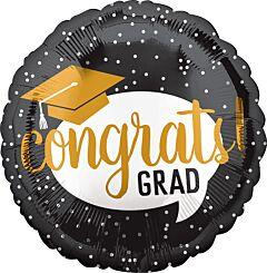 """18"""" Congrats Grad Bubble"""
