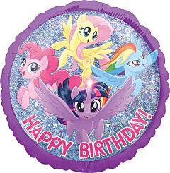 "18"" My Little Pony Friendship Adventure Happy Birthday"