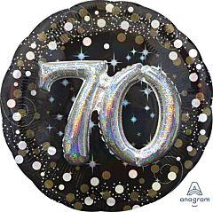"36"" Sparkling Birthday 70"