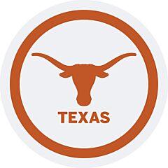 "U Of Texas - 7"" Paper Plates 12Ct"
