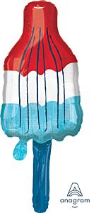 "40"" Red, White & Blue Popsicle"