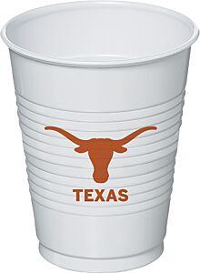 U Of Texas - 16 oz Cup 8Ct