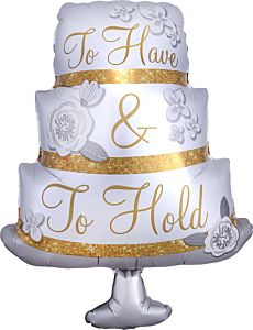 "28"" To Have & To Hold Cake"