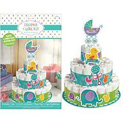 Baby Shower - Diaper Cake Kit