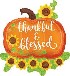 "29"" Thank/Blessed Pumpkin"