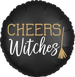"""17"""" Satin Cheers Witches"""