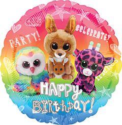 "17"" Beanie Boos Happy Birthday"