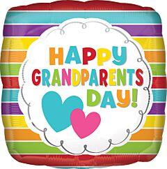 """17"""" Grandparents Day Stripes"""