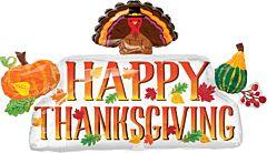 "36"" Thanksgiving Banner"
