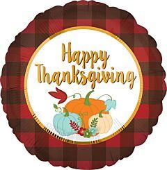 "17"" Thankgiving Plaid"