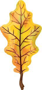 "42"" Fall Yellow Oak Leaf"