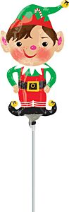 "14"" Jolly Christmas Elf"